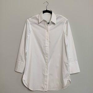 Aritzia Babaton Leonid Menswear Style Shirt
